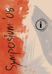 Symposiumsprogramm-Heft - Ethnologisches Symposium 2008