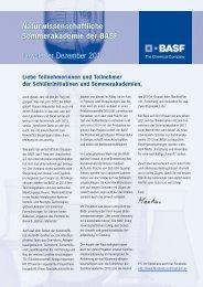 Berichte aus der BASF - BASF.com