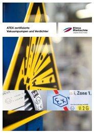 ATEX zertifizierte Vakuumpumpen und Verdichter - Elmo Rietschle
