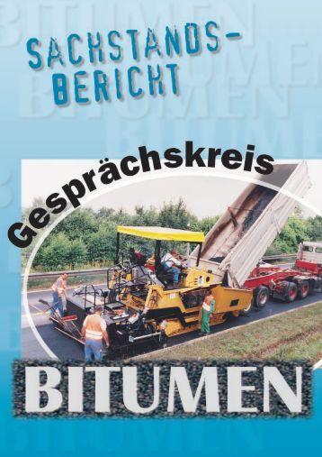 """Sachstandsbericht """"Bitumen"""" - gisbau"""
