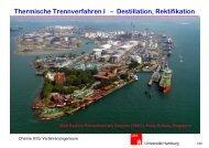 Thermische Trennverfahren I – Destillation, Rektifikation - Chemie ...