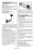 Ein- und Ausschalten des TV-Ger‰ts - Schuss Home Electronic - Seite 7