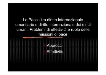"""De Stefani P., La Pace - tra diritto internazionale - Archivio """"Pace ..."""
