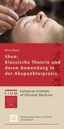 Info-Shen-2010 - EIOM Institut für Chinesische Medizin in München
