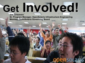 Organic? Managed? - OpenSolaris Developer Conference