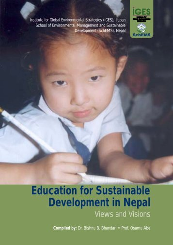 Education for Sustainable Development in Nepal - IGES EnviroScope