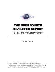 Eclipse Survey 2011 Report [final]