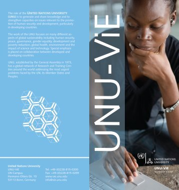 open - UNU-EHS - United Nations University