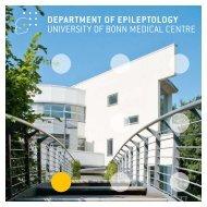 DEPARTMENT OF EPILEPTOLOGY UNIVERSITY OF BONN ...