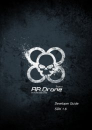 A.R.Drone Developer Guide - Abstract