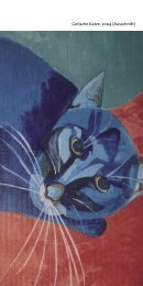 Gotische Katze, 2004 (Ausschnitt) - Eisenach