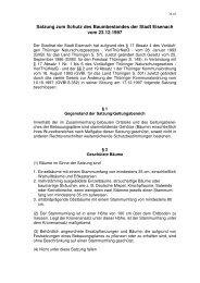 36_01 - Baumschutzsatzung 1 - Eisenach