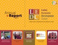 Assets - Latino Economic Development Center