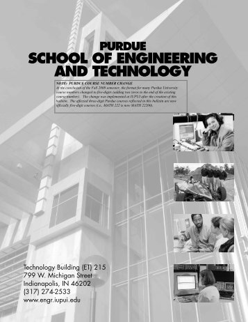 Purdue school of engineering and technology iupui campus