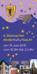 Programmheft - Eisenach