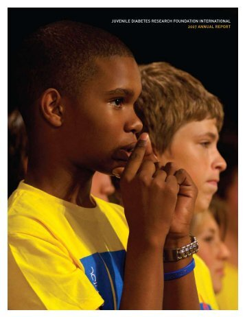 2007 Annual Report - JDRF