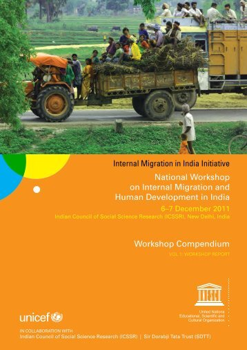 National Workshop on Internal Migration and Human Development ...