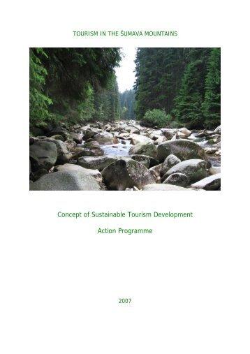 Concept of Sustainable Tourism Development Action Programme