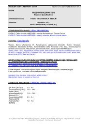 PRODUKTSPEZIFIKATION Product Specification Patak: MAB213EP ...