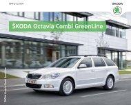 ŠKODA Octavia Combi GreenLine - Skoda