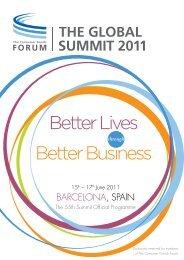 BARCELONA, SPAIN - Consumer Goods Forum