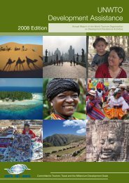 UNWTO Development Assistance - World Tourism Organization ...