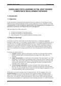 GUIDELINES FOR E-LEARNING IN THE JOINT ... - Train4dev.Net - Page 3