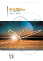 Globalization for development: the international trade ... - Unctad