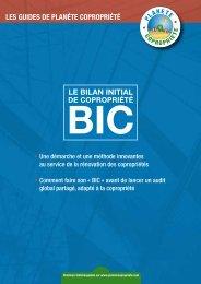 Bilan Initial de Copropriété - BIC - Union nationale des Associations ...