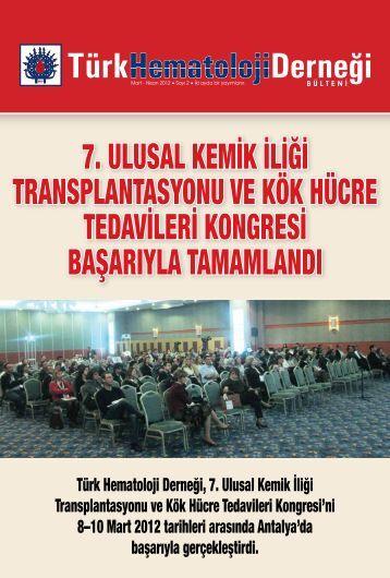 Sayı 2 - Türk Hematoloji Derneği