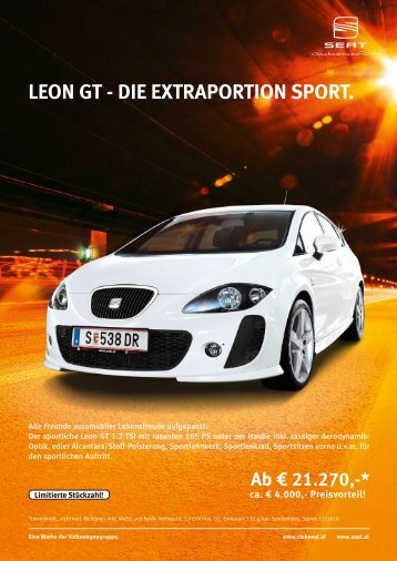 LEon GT - diE ExTrAPorTion SPorT.