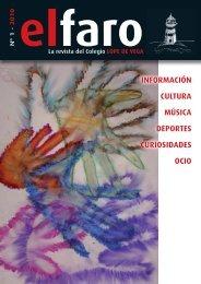 Número 1, Curso 2009 / 2010 - Colegio Lope de Vega