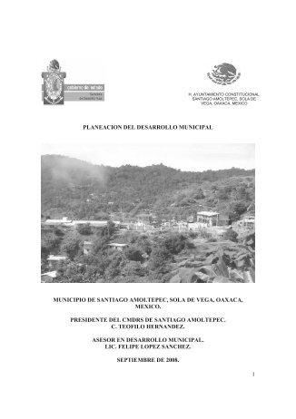 1 planeacion del desarrollo municipal municipio - Correo Institucional