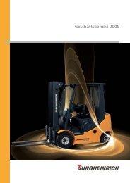 Geschäftsbericht 2009 - Jungheinrich