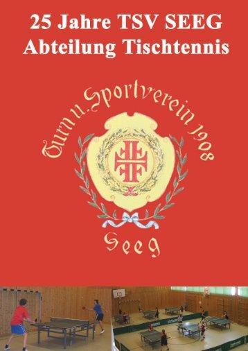 Festschrift als PDF... - TSV Seeg