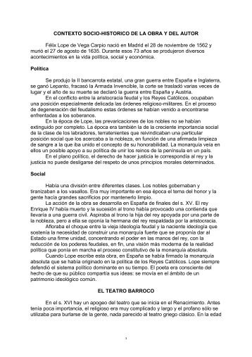 Lope de Vega Fuenteovejuna - SantamariaWeb > Home page