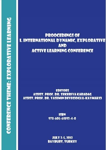 Explorative Learning Conference Theme - Physics Department ...
