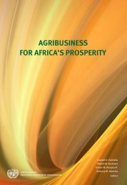AGRIBUSINESS FOR AFRICA'S PROSPERITY - Unido