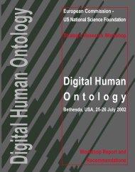 Digital Human Ontology - Ercim