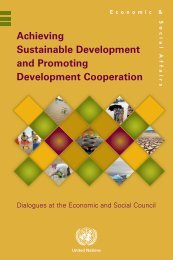 Achieving Sustainable Development and Promoting Development ...