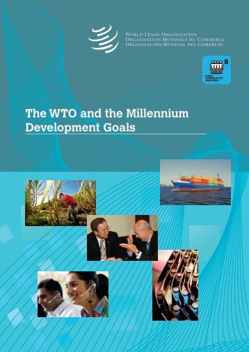 The WTO and the Millennium Development Goals - World Trade ...