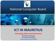 National Computer Board - EuroAfrica-ICT
