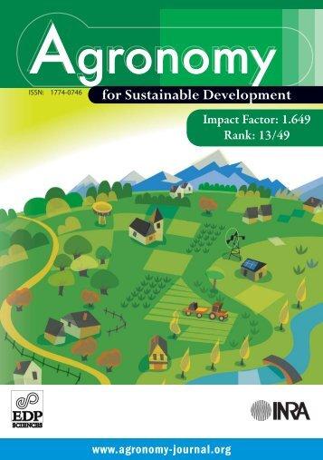 Leaflet (PDF) - Agronomy for Sustainable Development