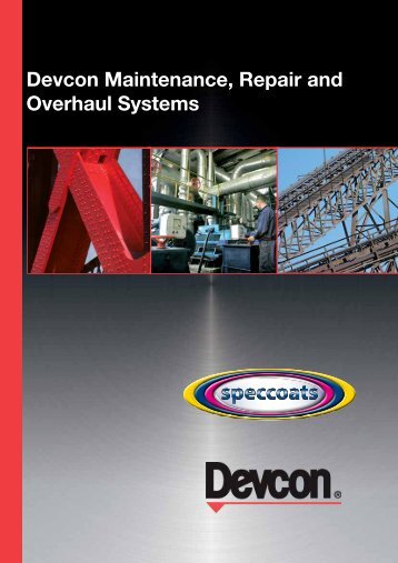 Devcon Maintenance, Repair and Overhaul Systems - Speccoats