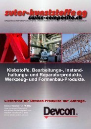 Devcon-Katalog - Suter Swiss-Composite Group