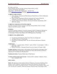 Dr. Jatila van der Veen - Physics Department, UCSB - University of ...