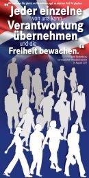 Jeder einzelne Verantwortung übernehmen - Bremer Rat für ...