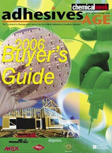 2006 Buyer's Guide 2006 Buyer's Guide