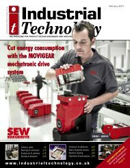 View advert - Industrial Technology Magazine