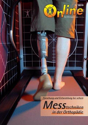 Messtechniken in der Orthopädie